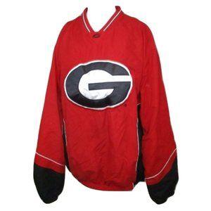 58 Sports UGA Georgia SEC Football Windbreaker